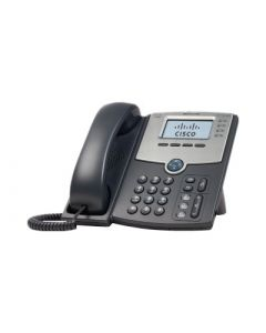 Cisco Small Business SPA 504G - VoIP phone - SIP, SIP v2, SPCP - 4 lines - silver, dark grey (pack of 4 )