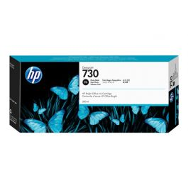 HP 730 zwarte DesignJet fotoinktcartridge, 300 ml