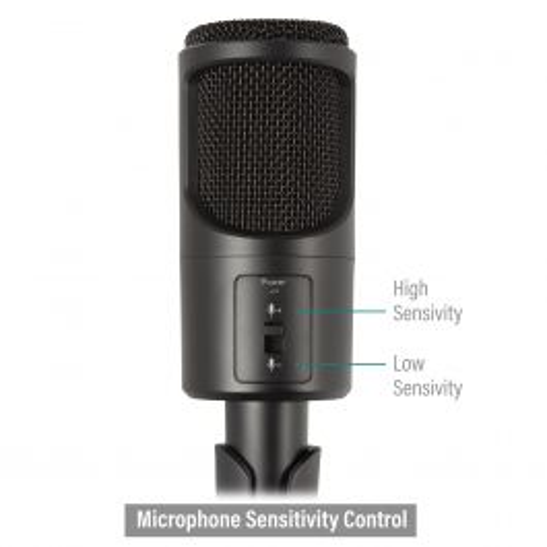 Ewent EW3552 microfoon Zwart PC-microfoon