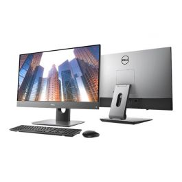Dell OptiPlex 7760 - Alles-in-��n - 1 x Core i5 8500 / 3 GHz - RAM 8 GB - SSD 256 GB - UHD Graphics 630 - GigE, 802.11ac Wave 2, Bluetooth 5.0 - WLAN: 802.11a/b/g/n/ac Wave 2, Bluetooth 5.0 - Win 10 Pro 64 bits - vPro - monitor: LED 27