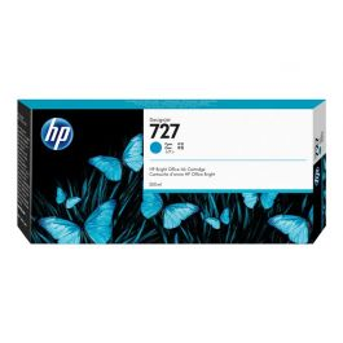 HP 727 Origineel Cyaan