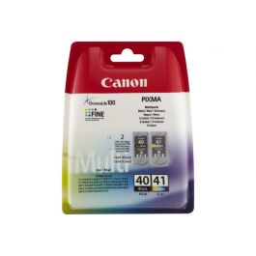Canon PG-40 / CL-41 inktcartridge 2 stuk(s) Origineel Foto cyaan, Foto magenta, Zwart, Fotogeel