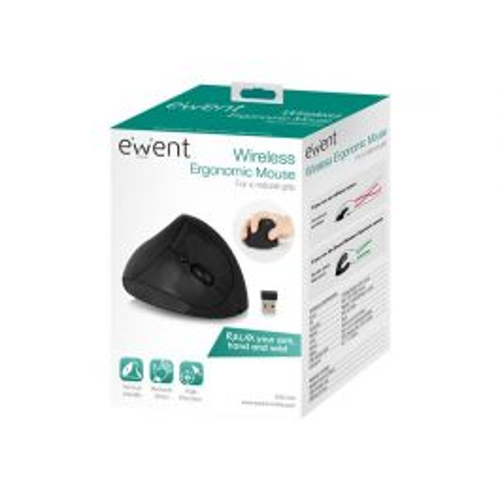 Ewent EW3150 muis Rechtshandig RF Draadloos Optisch 1600 DPI