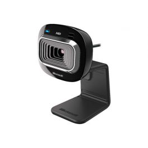 Microsoft LifeCam HD-3000 for Business webcam 1 MP 1280 x 720 Pixels USB 2.0 Zwart