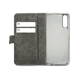 Mobilize Classic Gelly Wallet Book Case Samsung Galaxy A50 Black